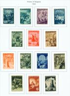 BULGARIA  -  1942  Bulgarian History  Mounted Mint - 1909-45 Kingdom