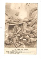 CPA Humour : The Things That Matter : Scene : Loos During The September Offensive - Bruce Bainsfather - Guerre 1914-18
