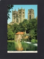 46814   Regno  Unito,  Durham  Cathedral  And  River  Wear,  NV(scritta) - Durham