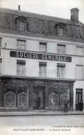 CHATILLON-SUR-SEINE - TRES BEAU PLAN DE LA SOCIETE GENERALE - PETITE ANIMATION -  TOP !!! - Chatillon Sur Seine