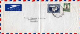 SOUTHERN RHODESIA 1950?, 2 Fach Frankierung Auf Briefstück - Südrhodesien (...-1964)