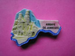 Feve PERSO Ancienne PUZZLE Rose - ABBAYE DE JUMIEGES - LA FROMENTERIE 1998 - Rare ( Feves ) - Région