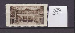 FRANCE. TIMBRE. VIGNETTE. CINDERELLA.......LES SAINTES MARIES DE LA MER 134 BOUCHES DU RHONE - Tourism (Labels)