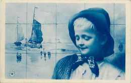Pays Divers - Pays Bas -hollande -ref B500- Enfant - Petit Hollandais -carte Bon Etat  - - Unclassified