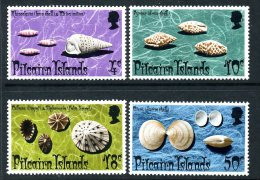 Pitcairn 1974 Shells Set Of 4, MNH (A) - Stamps
