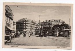 Cpa 67 - Strasbourg - Place D'Austerlitz - Strasbourg