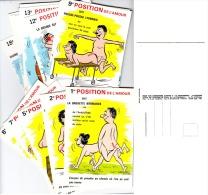 """C P Humour """" Les Positions De L´amour """" (lot De 18) Signèe ALEXANDRE 1971 - Humor"""