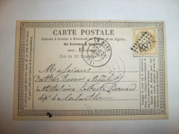 2tzx - Carte Postale 1875 - LE MANS - [72] - Sarthe - Le Mans
