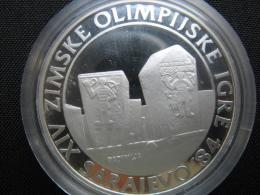 Winter Olyimpics In Sarajevo, 250 Dinara 1983, ( PP- Silber 925-17 G)(Radimlje Tombs) - Joegoslavië