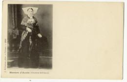MARANS. - Marans D´Aunis. Photo Robuchon.Femme En Tenue Habillée. Carte Pionnière - France