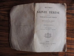 OEUVRE DE SAINTE THERESE Tome 1er Vie De Sainte Thérèse Ecrite Par Elle Même - Livres, BD, Revues