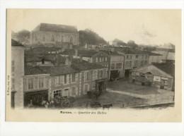 MARANS. - Quartier Des Halles ( Août 1903 écrit Au Verso) - France