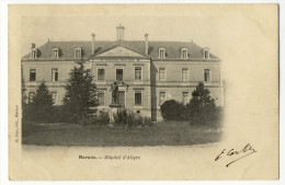 MARANS. - Hôpital D'Aligre.Carte Pionnière - France
