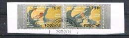 2009 - Fær Øer - ISOLE FAROER - LE ORIGINI DELLE ISOLE FAROER / THE ORIGIN OF THE FAROE ISLANDS. USATI / USED. - Isole Faroer