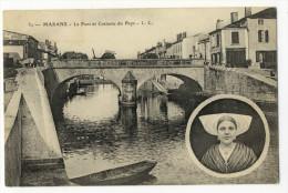 MARANS. - Le Pont Et Costume Du Pays - France
