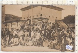 PO4552C# FOTOGRAFIA - MUSICA FOLKLORE - ORCHESTRA I PIERROTS Anni '30 - Anonymous Persons