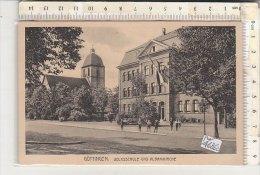 PO4626C# GERMANIA - GERMANY - GOTTINGEN - SCUOLE ELEMENTARI - VOLKSSCHULE UND ALBANIKIRCHE   No VG - Goettingen