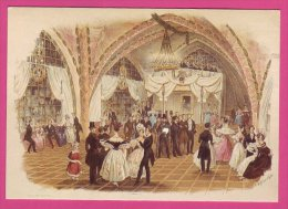 PC9531 Elysium Dance Hall (Tanzsaal), Vienna, Signed By Franz Wolf. - Dance