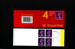 GREAT BRITAIN - £. 1.16  PRINTED (Walsall)  ACP  BOOKLET MINT NH  GG 2 - Booklets