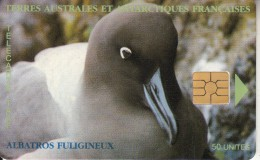 TAAF - Albatros Fuligineux(logo Rapproche), Tirage %1500, 12/97, Used - TAAF - French Southern And Antarctic Lands