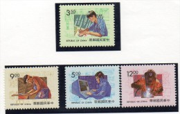 Serie Nº 2065/8   Formosa - 1945-... République De Chine