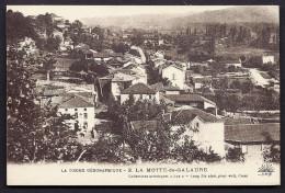 CPA  ANCIENNE- FRANCE- LA MOTTE-DE-GALAURE  (26)-  VUE GENERALE EN TRES GROS PLAN- CULTURES - Frankreich