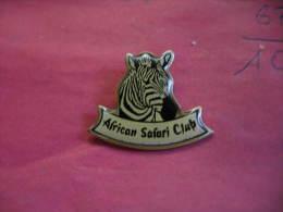 Pin´s African Safari Club. Zebre - Associations