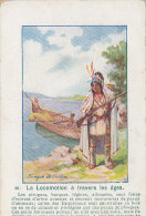 Indiens D' Amérique Du Nord -  Pirogue Indien - Indiens De L'Amerique Du Nord