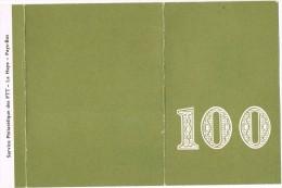 Pays - Bas - La Haye - 100º Service Philatelique Des PTT - Periodo 1949 - 1980 (Giuliana)