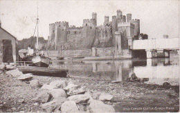 PC Conway Castle Conwy Castle  From River (2541) - Wales