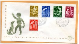 Netherlands 1962 FDC - FDC