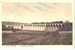 DANNEMARIE  Le Grand Viaduc - écrite TB - Dannemarie