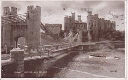 PC Conwy Castle Conway Castle And Bridge - Ca. 1930 (2561) - Wales