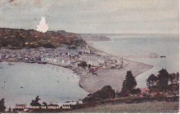 PC Teignmouth From The Torquay Road - 1928 (2562) - England