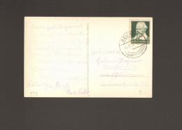 DR Ansichtskarte Vom Kloster Beuron Donautal Von 1935 Mit Einzelfrankatur Mi.Nr.573  2 Bilder - Allemagne