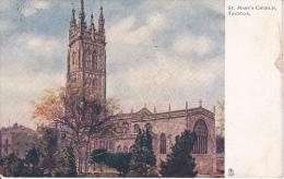 PC Taunton - St. Mary's Church - 1921 (2567) - England