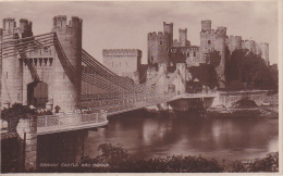 PC Conway Castle And Bridge - 1923 (2570) - Wales