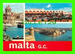 VITTORIOSA, MALTA - MALTA HILTON, GRAND HARBOUR - 3 MULTIVUES - - Malte
