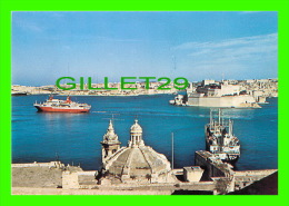 MALTA - THE GRAND HARBOUR - MJ PUBLICATIONS - ANIMATED WITH SHIPS - - Malte