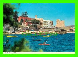 ST. PAUL'S BAY, MALTA -  LA BAIA DI SAN PAOLO  - PRINTEX LTD - - Malte