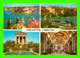 VALETTA, MALTA - 4 MULTIVUES DE LA VILLE - PRINTEX LTD - - Malte