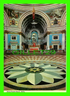 MALTA - INTERIOR OF MOSTA CHURCH - PRINTEX LTD - - Malte