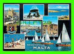 MALTA - BEAUTIFUL MALTA - 7 MULTIVUES - JOSEPH CALLEJA - ROBERTS - - Malte