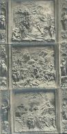 FIRENZE-PARTICOLARE  DELLA  PORTA  DEL BATTISTERO -3 CART . NUOVE PRIMI 900 - Sculptures