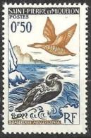 1963  Saint Pierre Et Miquelon  N° 364 Nf* . Somateria Molissima . - St.Pierre Et Miquelon
