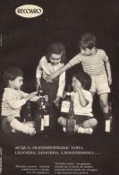 # ACQUA MINERALE LORA RECOARO 1950s Advert Pubblicità Publicitè Reklame Food Drink Mineral Water Eau Agua Wasser - Manifesti