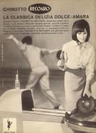 # CHINOTTO RECOARO 1950s Advert Pubblicità Publicitè Reklame Food Drink Bibita Bebida Getrank Boisson - Manifesti