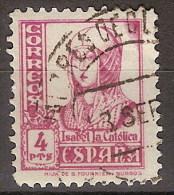 España U 0829 (o) Isabel. 1937. - 1931-Today: 2nd Rep - ... Juan Carlos I