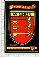 BLASON ADHESIF  -   AVIGNON  -   Villes Et Provinces De France - Avignon
