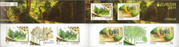 Serbia 2011 EUROPA, Forest, Booklet B With 2 Sets And Labels In The Row, MNH - Serbien